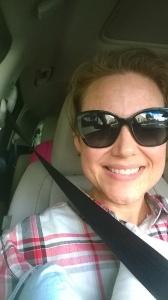 Going home selfie!